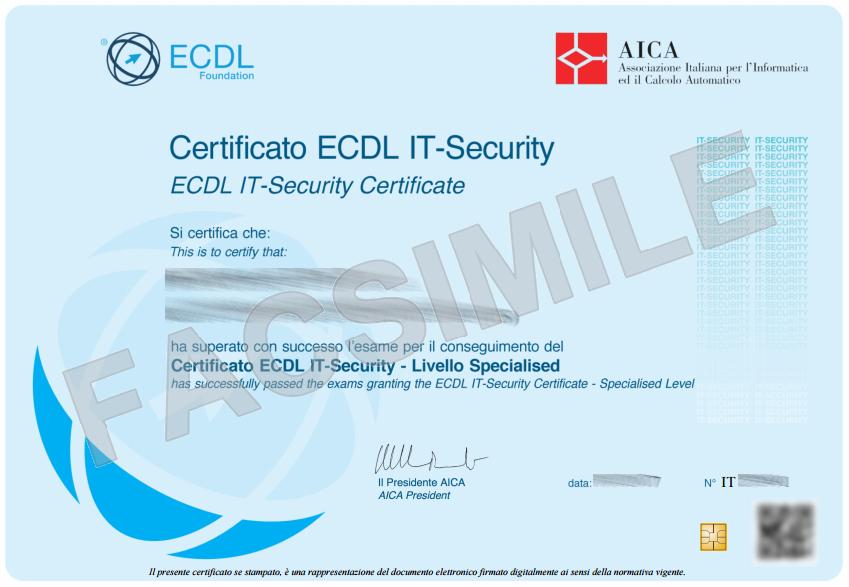 ICDL IT Security in un giorno